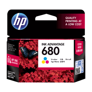 HP Ink Cartridge 680 Colour