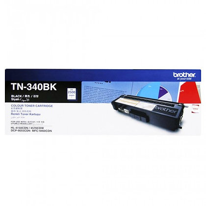 TN- 340BK Toner Cartridge (Black- Life : 2500 Pages),MRP- 4,690/-