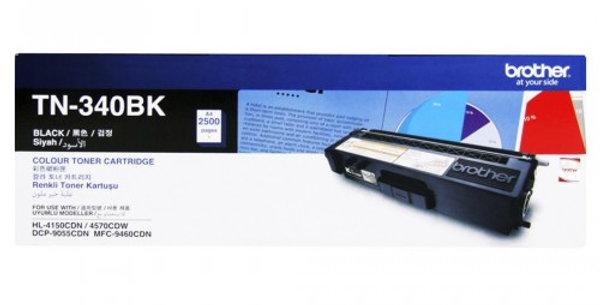 TN- 340BK Toner Cartridge (Black- Life : 2500 Pages),MRP- 4,690/-