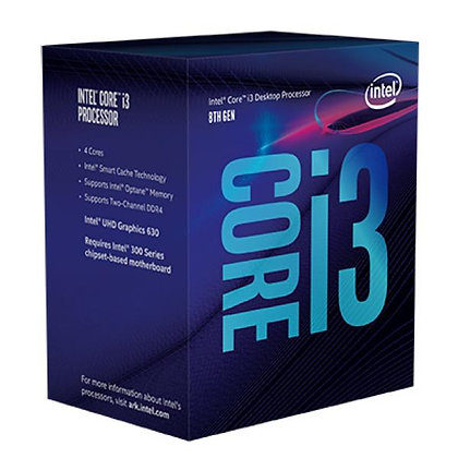 8th Gen Intel® Core™ i3-8100 Desktop Processor 4 Cores up to 3.6GHz LGA1151