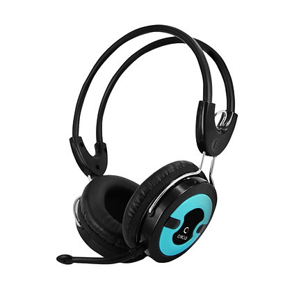 Headset  Circle Concerto 203 (Blue)With Mic,MRP- 790/-