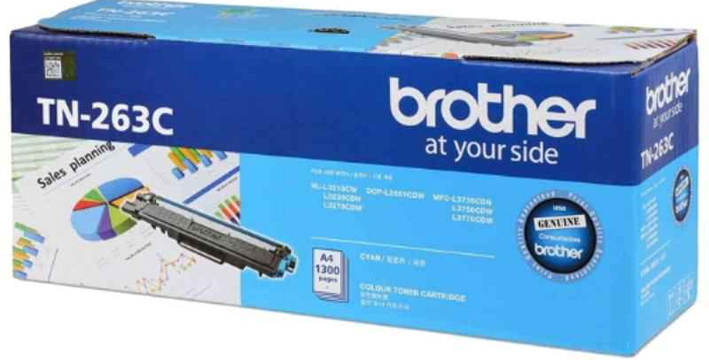 BROTHER TN- 263C Toner Cartridge