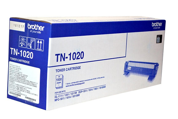 TN - 1020 Toner Cartridge (LIFE:1500 Pages),MRP - 2235/-
