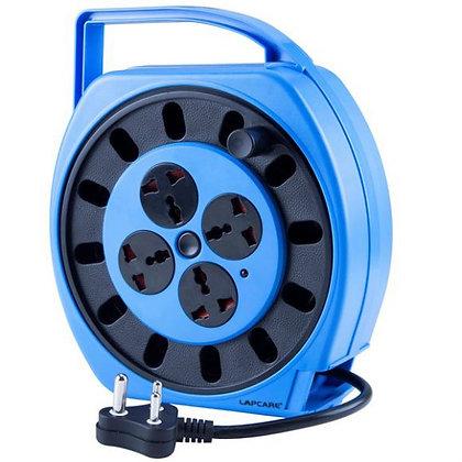 LKIOML6447-Surge Protector, LS400 Lapcare 4way reel socket with spike buster