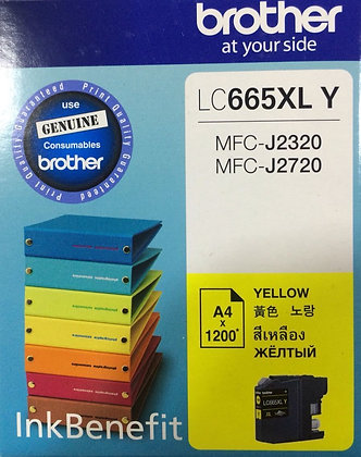 BROTHER LC665XLY - Ink Cartridge