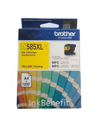 BROTHER LC585XLY - InkCartridge