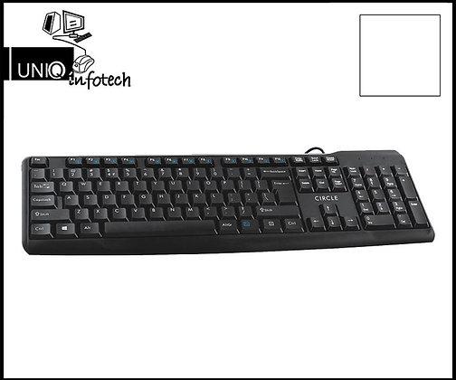 Circle Caliber keyboard USB, Mrp- 449/-