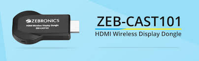 DC5 - ZEB CAST 101 ZEBRONICS WIRELESS DISPLAYDONGLE