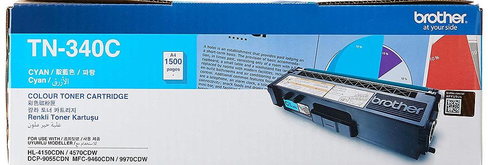 TN - 340C - Toner Cartridge(Cyan- life : 1500 pages )MRP- 4,140/-