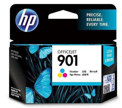HP Officejet 901 Tri-color Ink Cartridge