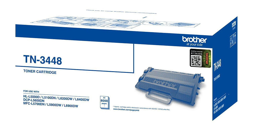 BROTHER TN- 3448 Toner Cartridge