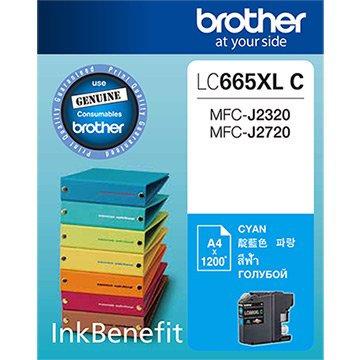 BROTHER LC665XLC - InkCartridge