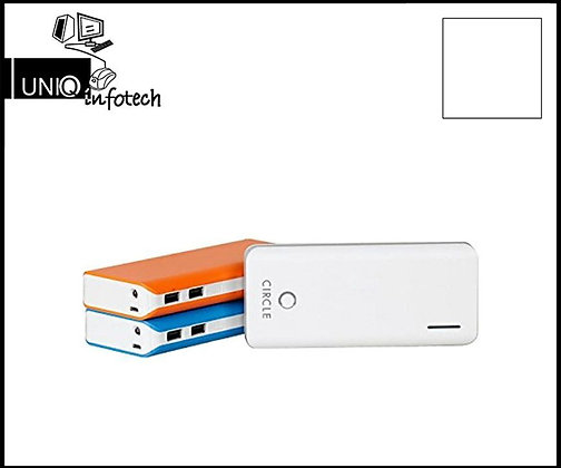 Circle Power Bank CLI12500mAH, MRP- 3,690/-