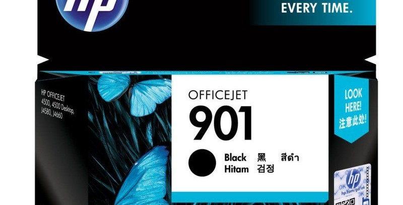 HP Officejet 901 Black Ink Cartridge