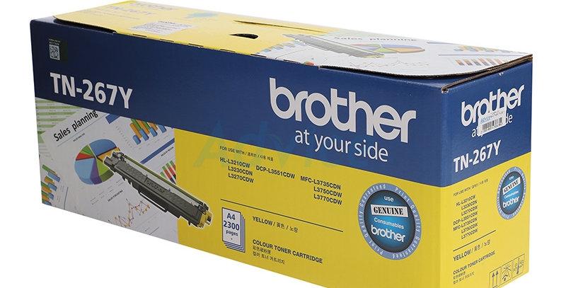 BROTHER  TN 267Y Yellow Toner Cartridge