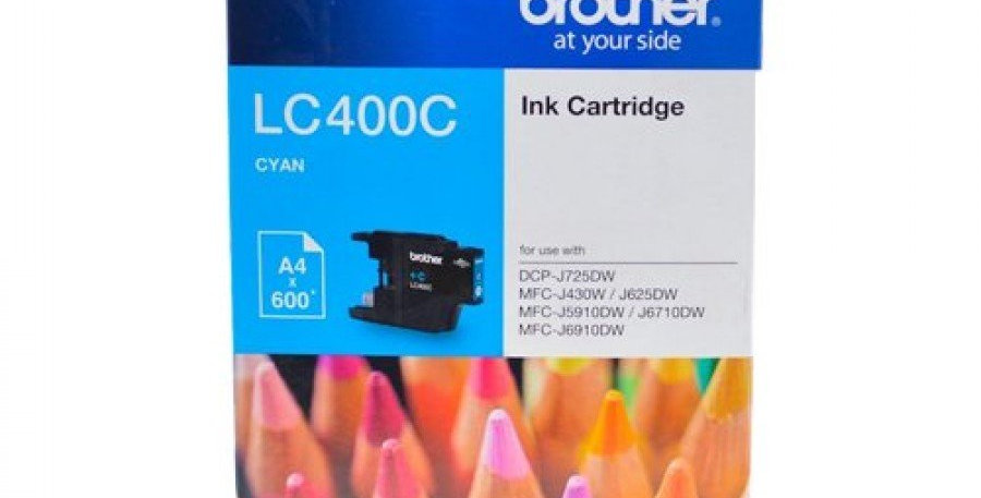 BROTHER LC400C- Ink Cartridge