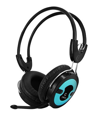 Headset circle Concerto 20 Headset With Mic (Blue),MRP- 690/-