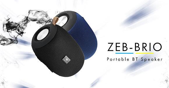SPK- Zebronics Portable Bluetooth Spk- (BRIO), MRP-2499