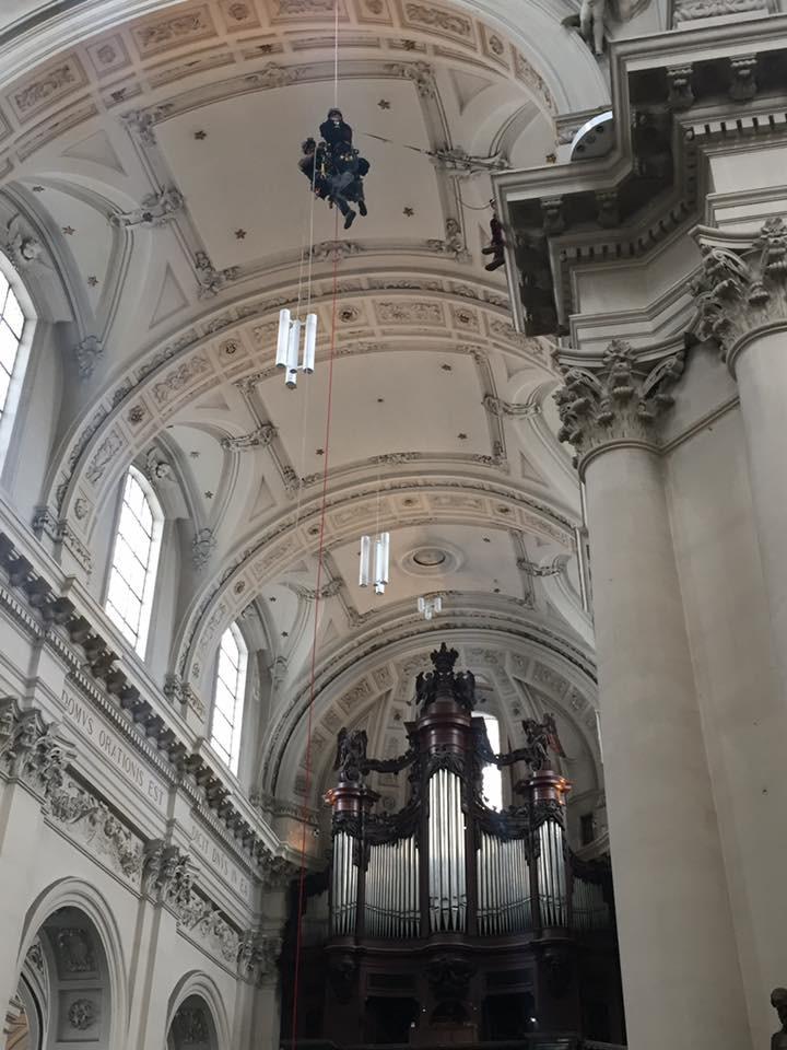 cathedral rescue scenario