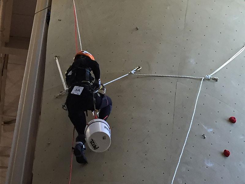 Petzl rope trip water