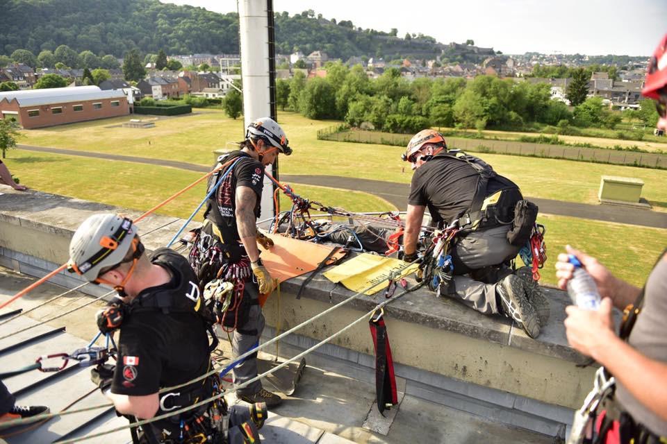 Rigging for a rescue scenario