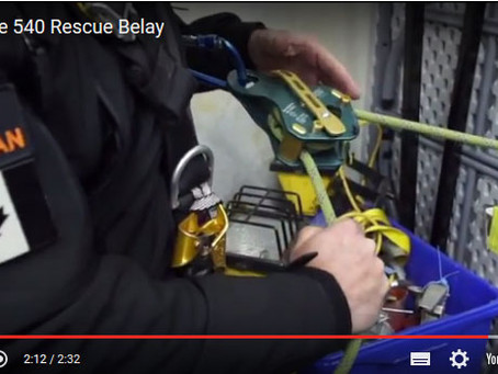Equipment Review: Traverse 540 Rescue Belay