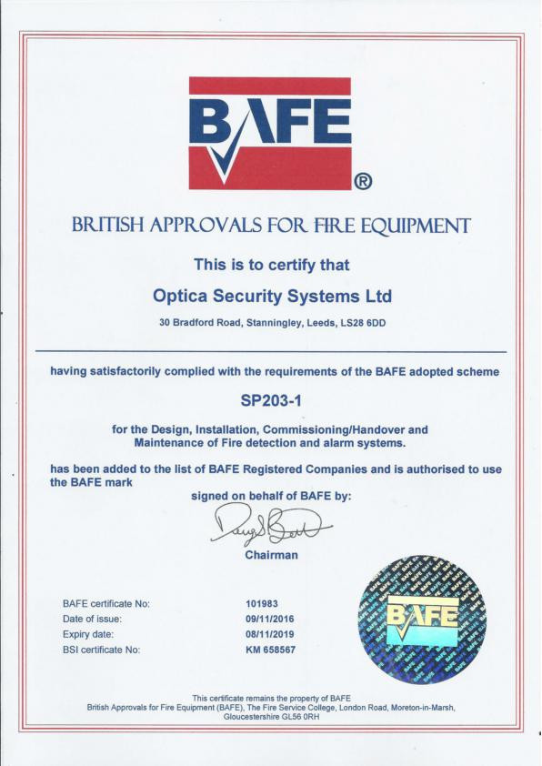 3 Years of BAFE Accreditation