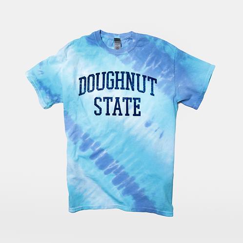 Doughnut State Tee: Tie Dye