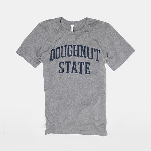 Doughnut State Tee: Heather Grey
