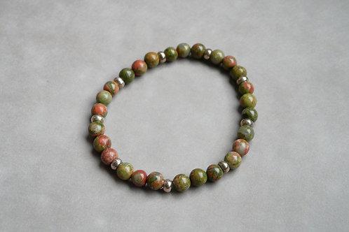 """Bracelet """"Naturea"""" Unakite"""