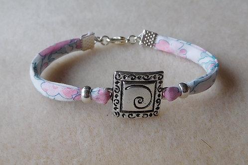 Bracelet Liberty fleuri Pastel