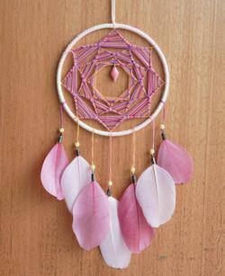 attrapea multicore soleil et plume rose