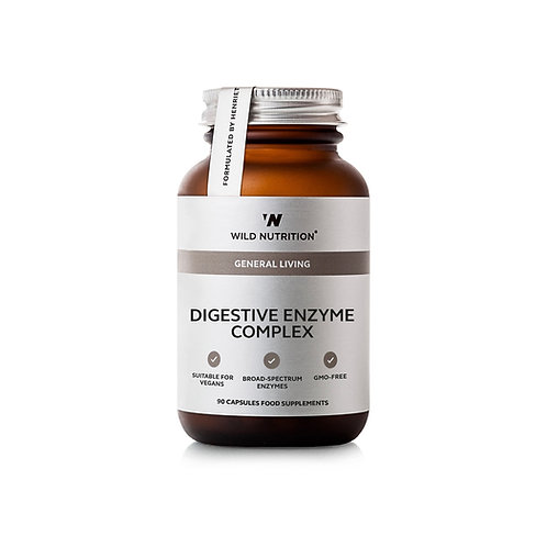 Wild Nutrition General Living Digestive Enzyme Complex 90's