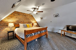 An extended stay room at the College Inn
