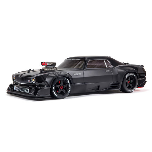 Arrma 1/7 FELONY 6S BLX Street Bash All-Road Muscle Car RTR, Black