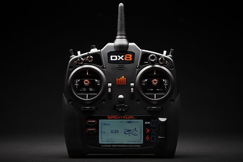 Spektrum DX8 8-Channel DSMX Transmitter Only Gen 2, Mode 2