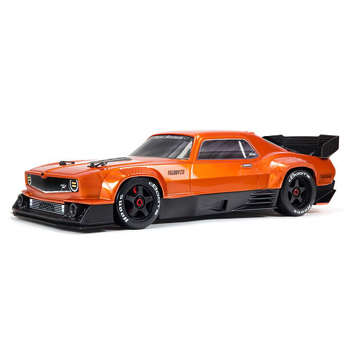 Arrma 1/7 FELONY 6S BLX Street Bash All-Road Muscle Car RTR, Orange