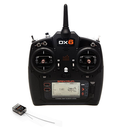 Spektrum DX6 6-Channel DSMX Transmitter Gen 3 (Mode 2) with AR6600T Receiver