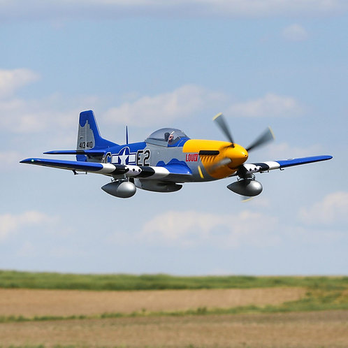 EFlite P-51D Mustang 1.5m BNF Basic with Smart