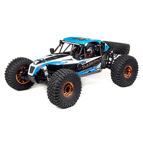 Losi 1/10 Lasernut U4 4WD Brushless RTR with Smart and AVC, Blue
