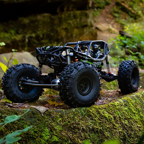 Axial 1/10 RBX10 Ryft 4WD Brushless Rock Bouncer RTR, Black