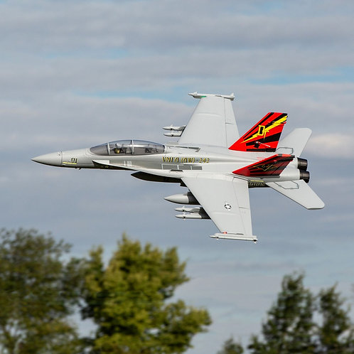 EFlite F-18 Hornet 80mm EDF BNF Basic with AS3X and SAFE Select