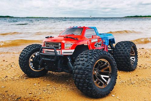 Arrma 1/10 GRANITE 3S BLX 4WD Brushless Monster Truck w/ Spektrum RTR, Red/Blue