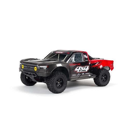 Arrma 1/10 SENTON 4X4 V3 MEGA 550 Brushed Short Course Truck RTR, Red