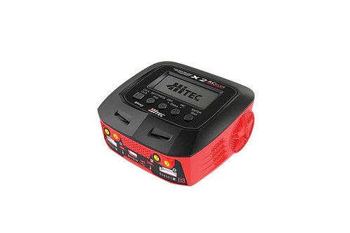 Hitec X2 AC Plus Black Edition Multi-Function AC/DC Charger