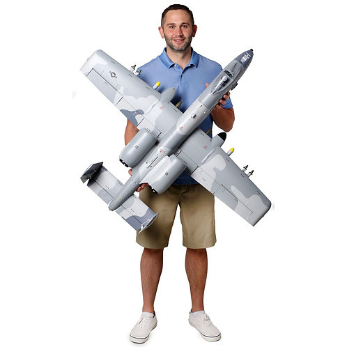 E-Flite A-10 Thunderbolt II 64mm EDF BNF Basic with AS3X and SAFE Select