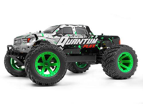 Quantum MT Flux Brushless 1/10 4WD Monster Truck, RTR, Green