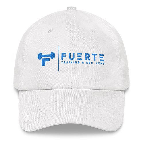 Adjustable Dad Hat Blue Logo