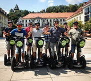 Segway Graz | Karmeliterplatz | Gruppe
