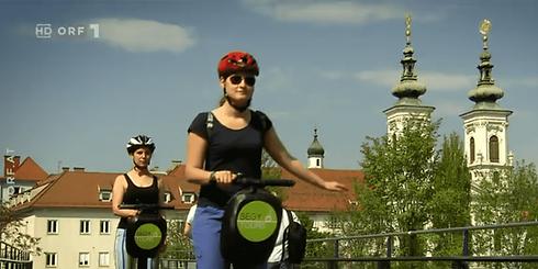 ORF Beitrag Segway Graz